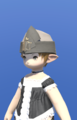 Model-Linen Wedge Cap of Gathering-Female-Lalafell.png