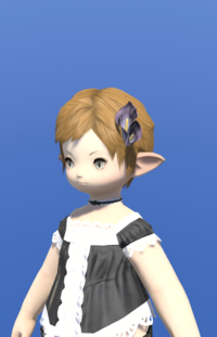 Model-Black Arum Corsage-Female-Lalafell.png