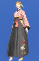 Model-Far Eastern Schoolgirl's Hakama-Female-AuRa.png