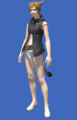 Model-Hooded Fireglass Leather Vest-Female-Miqote.png