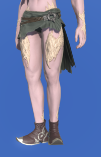 Model-Marid Leather Babouches of Gathering-Male-AuRa.png
