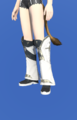 Model-Prototype Alexandrian Boots of Healing-Female-Miqote.png