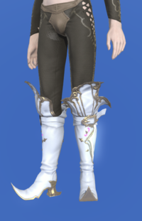 Model-Elemental Boots of Scouting +1-Male-Elezen.png