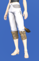 Model-Ramie Trousers of Gathering-Female-Miqote.png