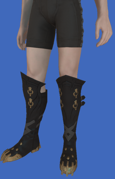 Model-Replica Sky Pirate's Boots of Fending-Male-Hyur.png