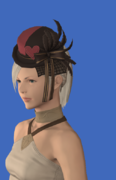 Model-Valentione Rose Ribboned Hat-Female-Hyur.png