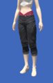 Model-Cropped Fireglass Leather Slops-Female-Hyur.png