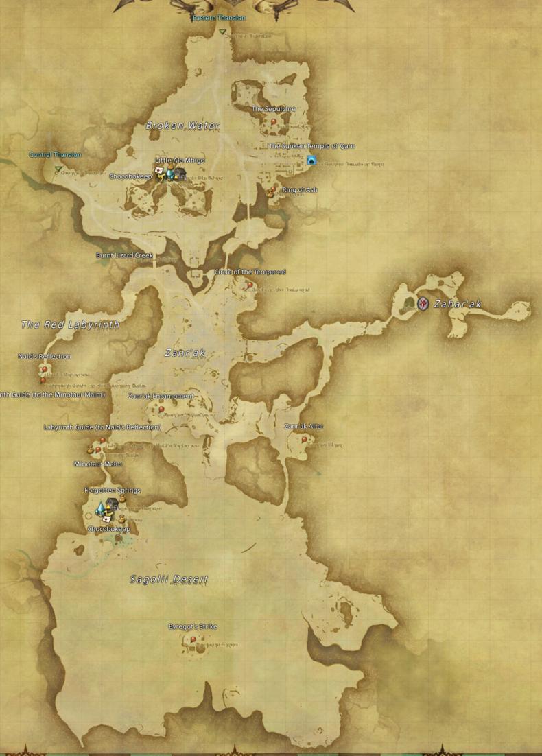 Southern Thanalan – Gamer Escape: Gaming News, Reviews