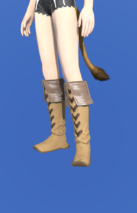 Model-Aetherial Boarskin Moccasins-Female-Miqote.png