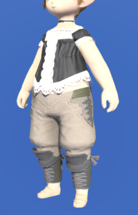 Model-Linen Sarouel of Gathering-Female-Lalafell.png