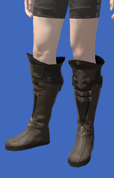 Model-Atrociraptorskin Boots of Crafting-Male-Hyur.png