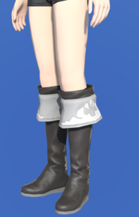 Model-Kirimu Boots of Healing-Female-Hyur.png