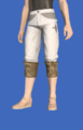 Model-Ramie Trousers of Gathering-Male-Hyur.png