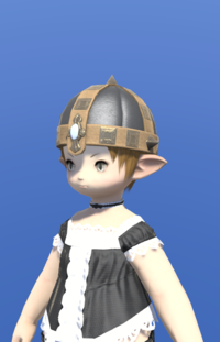 Model-Aetherial Boarskin Pot Helm-Female-Lalafell.png