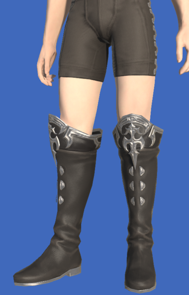 Model-Carborundum Boots of Healing-Male-Hyur.png