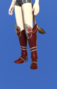 Model-Doman Steel Greaves of Scouting-Female-Miqote.png
