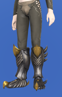 Model-Tarnished Feet of Pressing Darkness-Male-Elezen.png