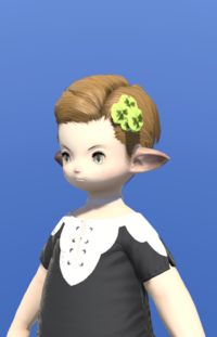 Model-Green Viola Corsage-Male-Lalafell.png