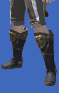 Model-Raptorskin Boots-Male-Miqote.png