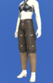 Model-Gyuki Leather Trousers of Fending-Female-Roe.png