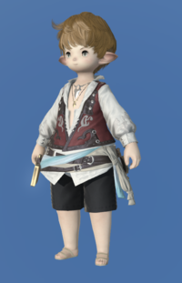 Model-Shirt of the Divine Light-Male-Lalafell.png