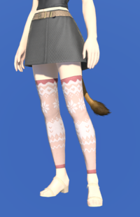 Model-Whisperfine Woolen Shorts-Female-Miqote.png