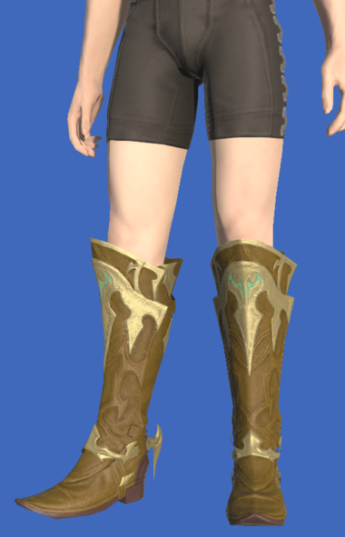 Model-Dragonskin Boots of Healing-Male-Hyur.png