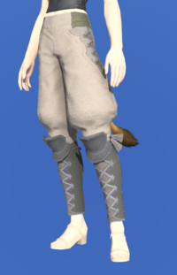 Model-Linen Sarouel of Gathering-Female-Miqote.png
