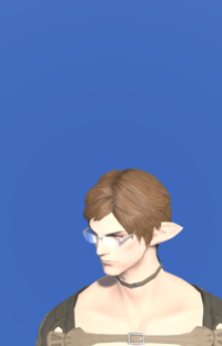 Model-Elegant Rimless Glasses-Male-Elezen.png