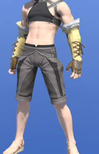 Model-Tigerskin Fingerless Gloves of Gathering-Male-Miqote.png