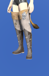 Model-Antiquated Gunner's Thighboots-Female-Miqote.png