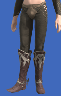 Model-Harlequin's Boots-Male-Elezen.png