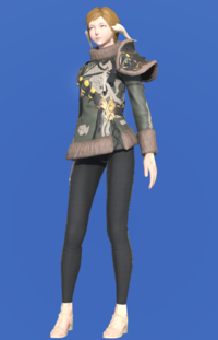 Model-Augmented True Linen Jacket of Aiming-Female-AuRa.png