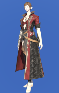 Model-Griffin Leather Coat of Striking-Female-Elezen.png