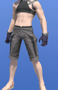 Model-Valerian Shaman's Dress Gloves-Male-Miqote.png