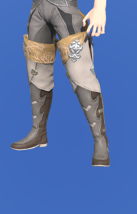 Model-Antiquated Gunner's Thighboots-Male-Miqote.png