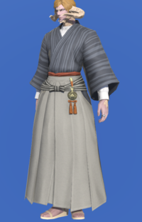 Model-Far Eastern Schoolboy's Hakama-Male-AuRa.png