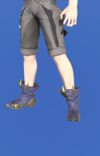 Model-Replica Dreadwyrm Shoes of Casting-Male-Miqote.png