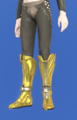 Model-The Feet of the Golden Wolf-Male-Elezen.png