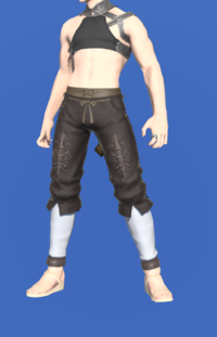 Model-Ivalician Holy Knight's Trousers-Male-Miqote.png
