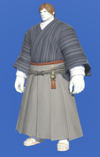 Model-Far Eastern Schoolboy's Hakama-Male-Roe.png