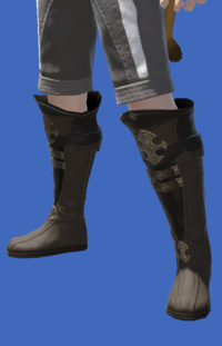 Model-Atrociraptorskin Boots of Crafting-Male-Miqote.png