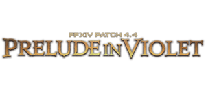 "Logo of Patch 4.4 ""Prelude in Violet"""