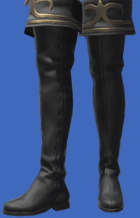 Model-Gyuki Leather Highboots of Striking-Female-Viera.png