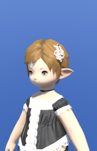 Model-Pink Cherry Blossom Corsage-Female-Lalafell.png