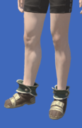 Model-Zonureskin Shoes of Crafting-Male-Hyur.png