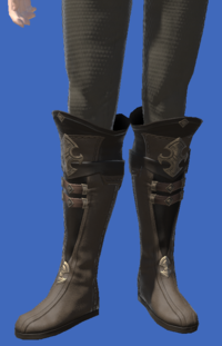 Model-Atrociraptorskin Boots of Crafting-Male-Elezen.png
