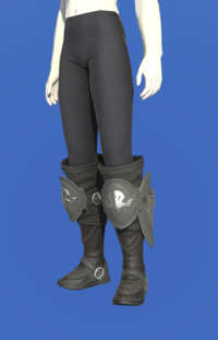 Model-Ishgardian Bowman's Boots-Female-Roe.png