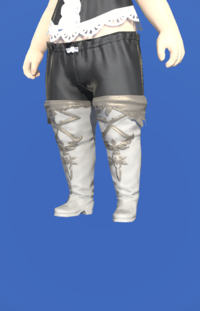 Model-Slothskin Boots of Striking-Female-Lalafell.png