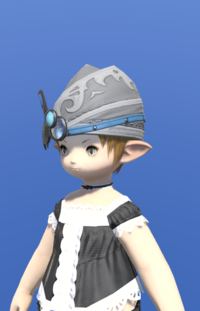 Model-Carbonweave Cap of Crafting-Female-Lalafell.png